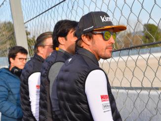 Fernando Alonso McLaren Barcelona 2019