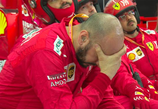 Ferrari Bahrein decepcion