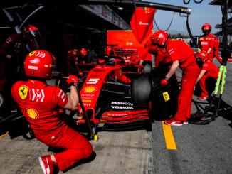 Sebastian Vettel pretemporada Montmelo 2019