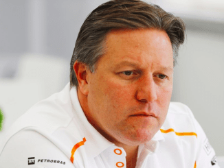 Zak Brown McLaren