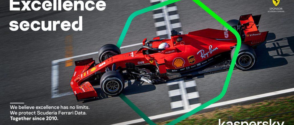 Kaspersky Ferrari 2020