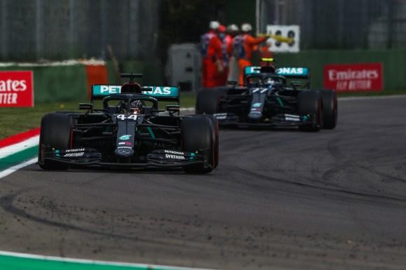 Mercedes F1 - Gran Premio de Emilia Romana 2020