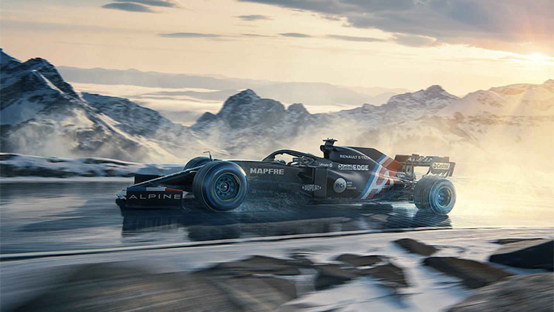 Alpine Alonso F1
