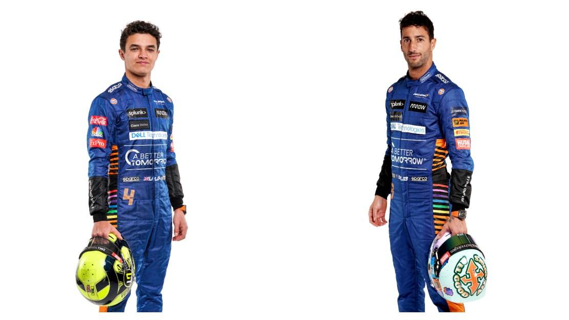 Lando Ricciardo Mclaren 2021