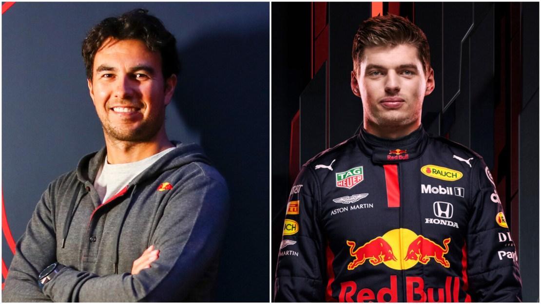 Perez Verstappen Red Bull