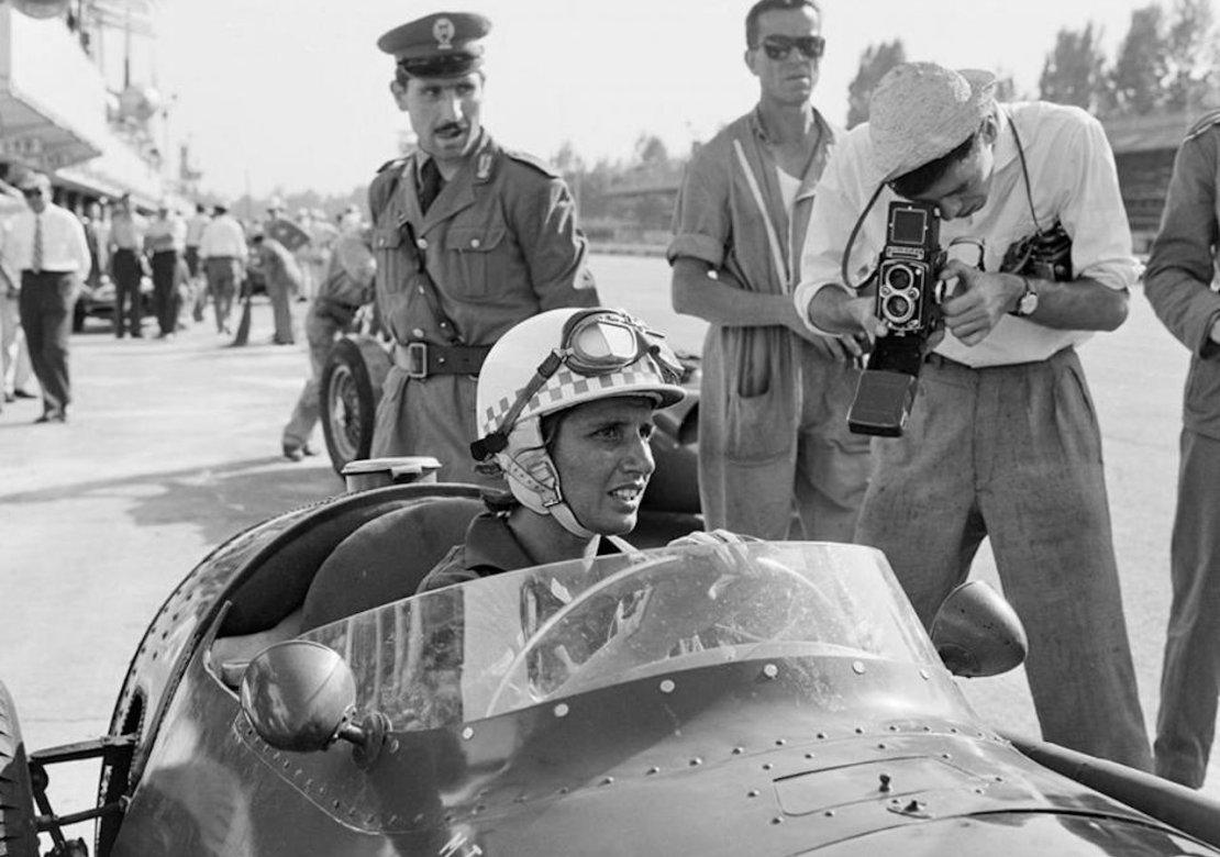 Maria Teresa de Filippis Monza 1958