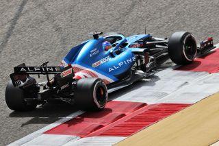 Tests F1 Bahrein Alpine