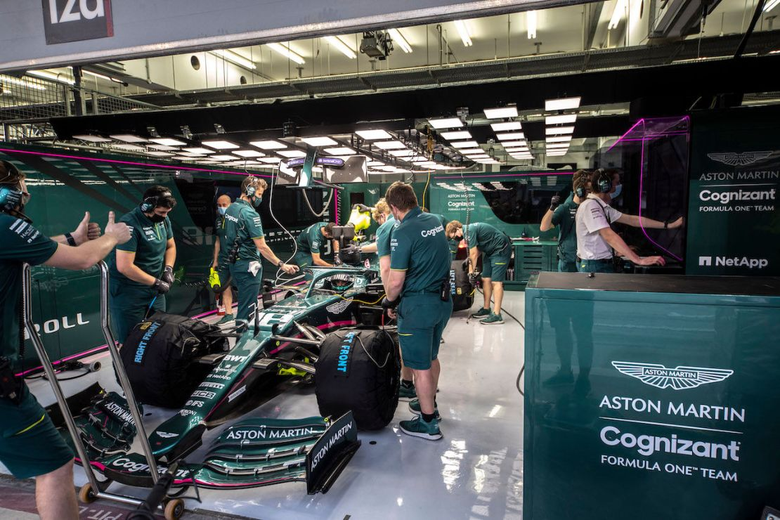 Tests F1 Bahrein Aston Martin