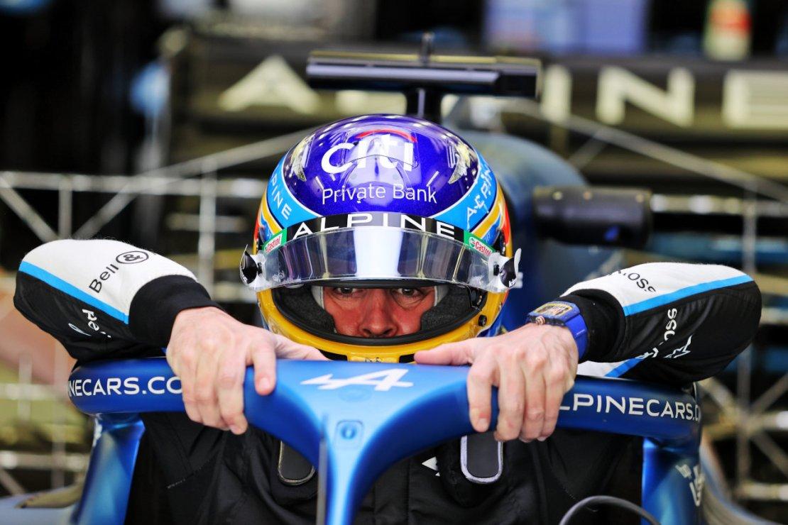Alonso Bahrein pretemporada