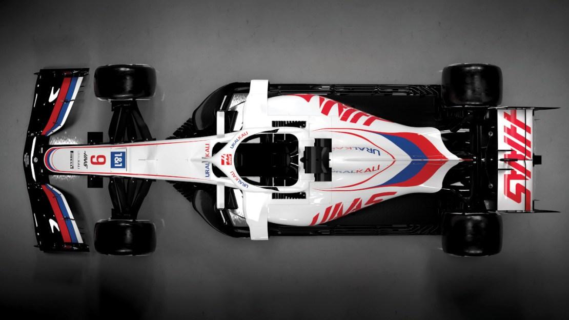 Haas VF21