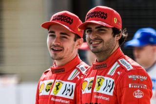 Tests F1 Bahrein Sainz Leclerc