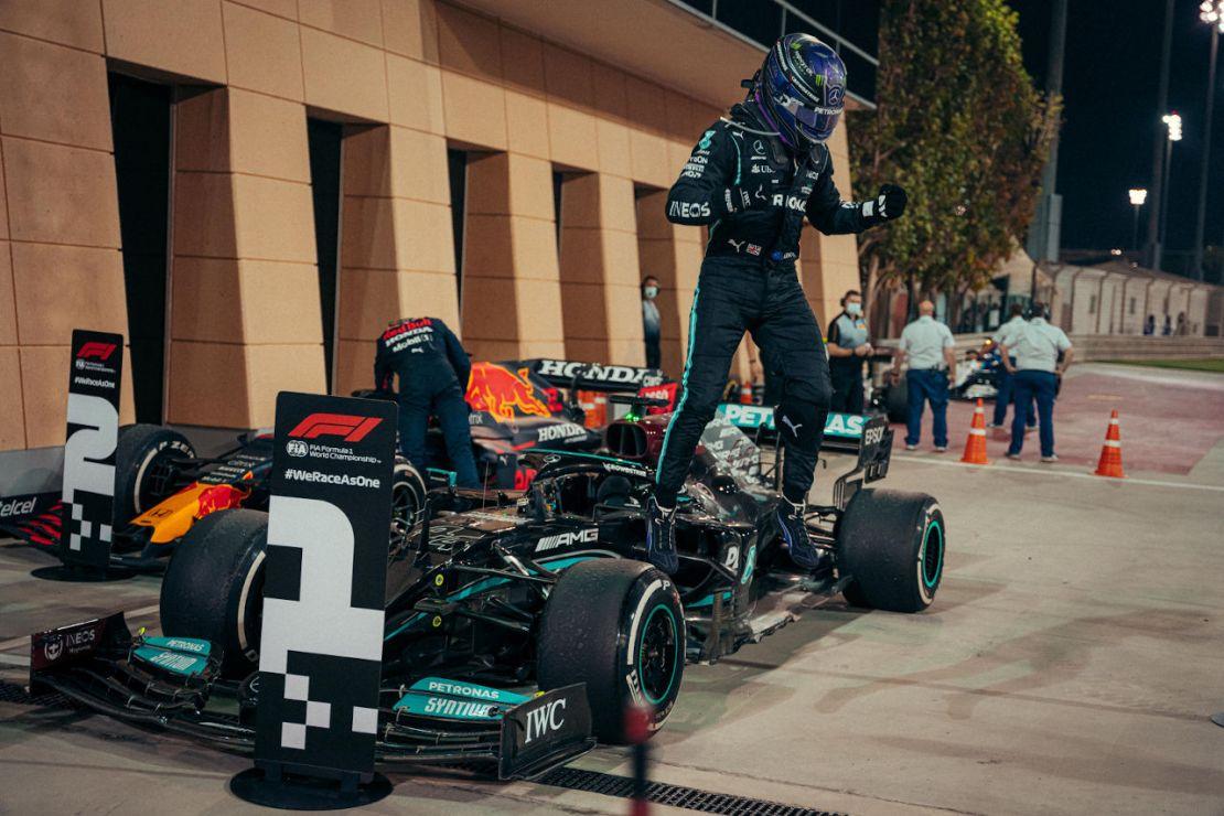 Hamilton victoria Bahrein 2021