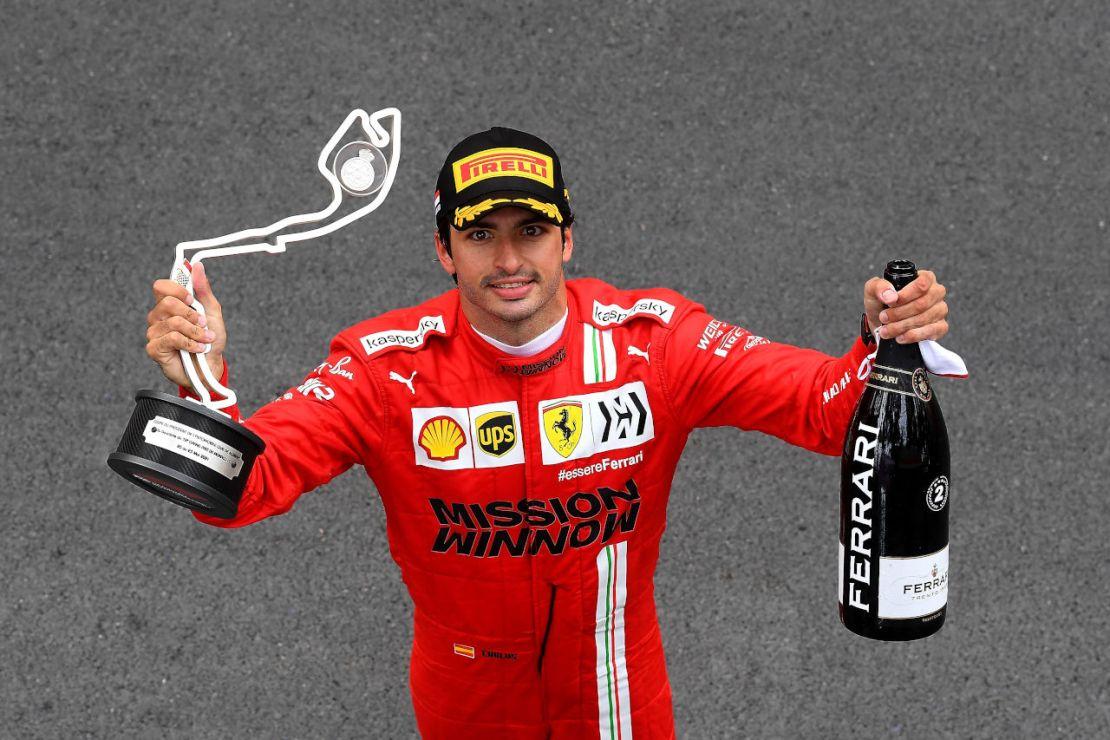 Carlos Sainz Monaco 2021
