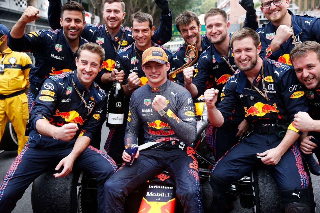 Red Bull victoria Monaco 2021