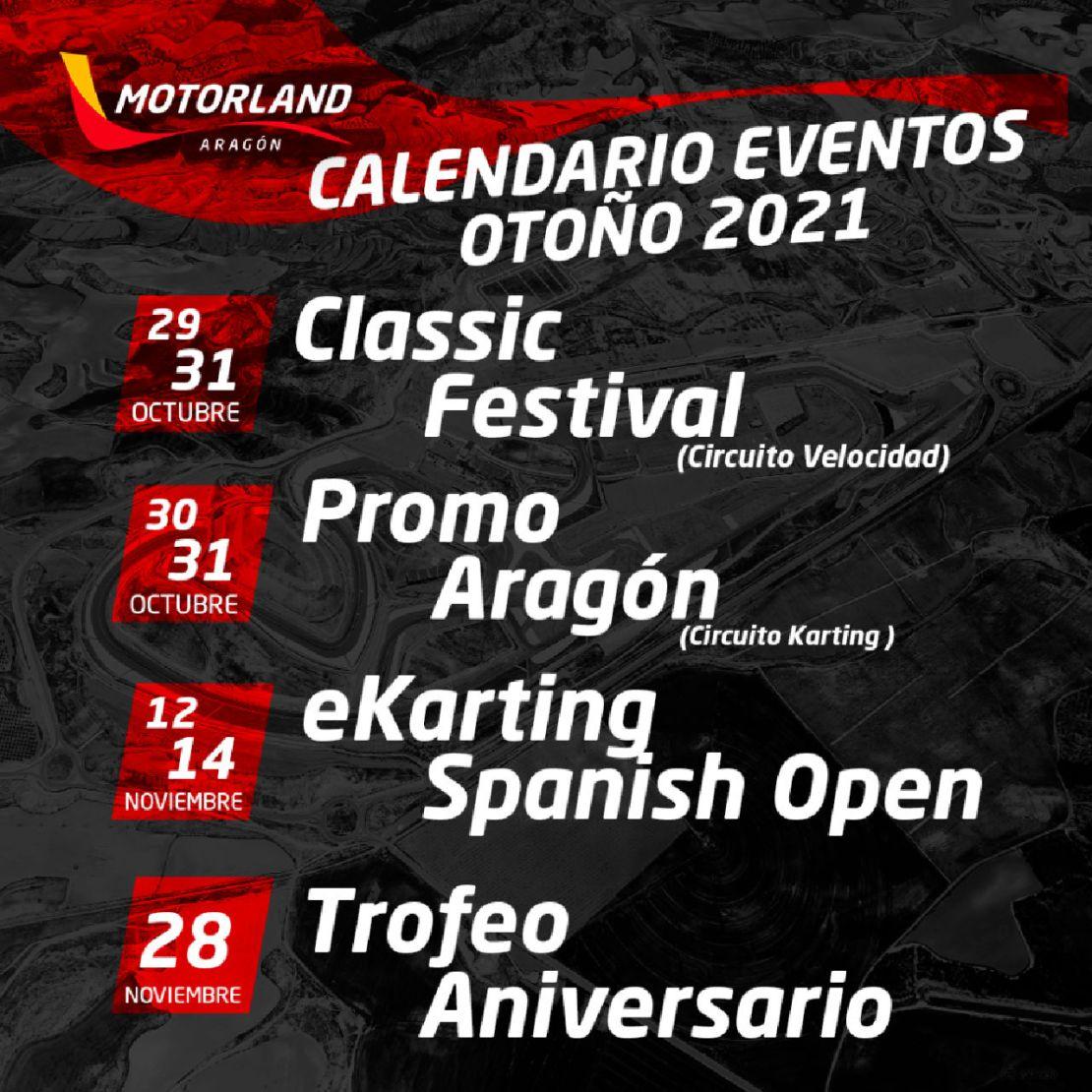 Calendario motorland
