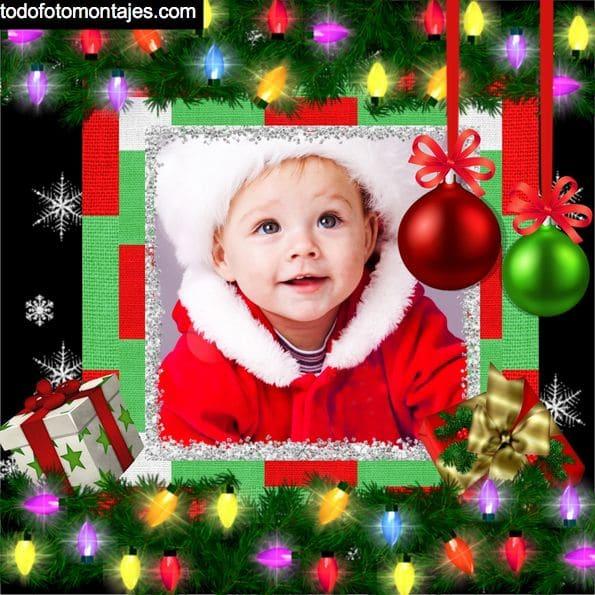 Montajes De Felicitaciones De Navidad.Mas De 100 Fotomontajes De Navidad Online Gratis