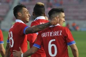Felipe Gutiérrez marcó un doblete ante Paraguay.