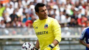 Justo Villar la figura de Colo Colo en el torneo.