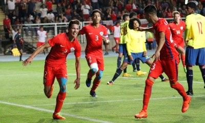 Gastón Zúñiga se metió en la historia al anotar el gol con que Chile sub 17 clasificó al Mundial.