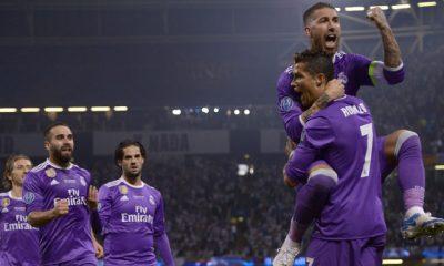 Ronaldo anotó dos goles en la final ante la Juventus. El real Madrid nuevamente es campeón de Europa.