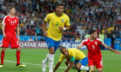 Brasil venció a Serbia y clasificó a octavos de final del Mundial de Rusia 2018.