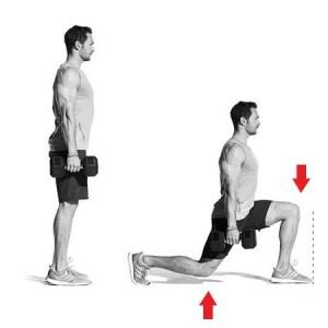 Ejercicio para piernas y glúteos