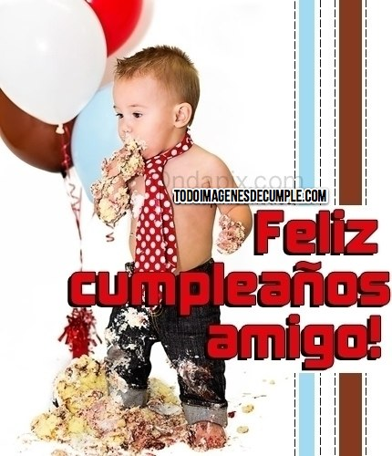 feliz cumpleaños amigos