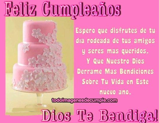 imágenes de feliz cumpleaños, dios te bendiga