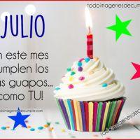 Imágenes de cumpleaños mes de Julio para descargar gratis