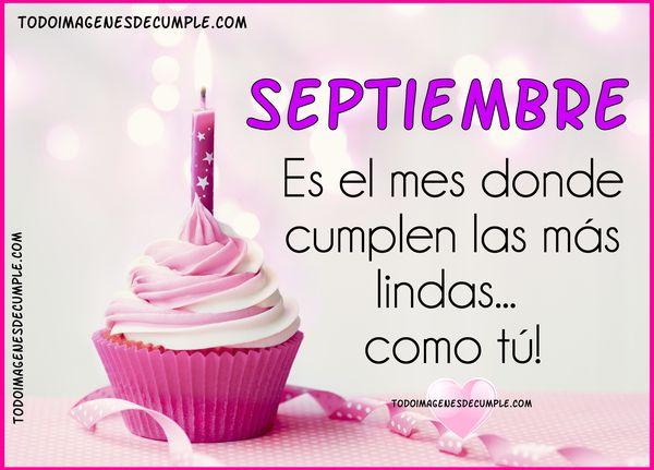 mes de septiembre cumpleaños