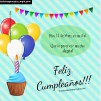 Imágenes con el día de cumpleaños: Mes de Mayo
