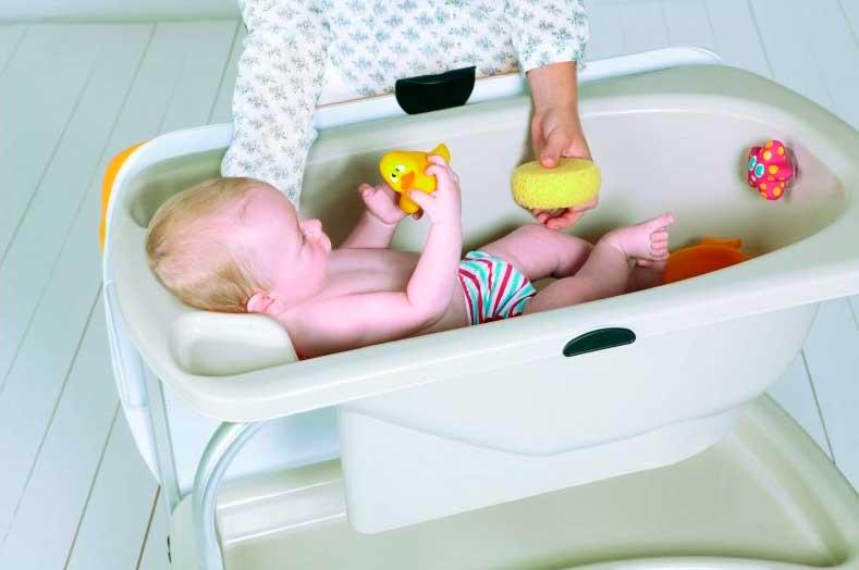 Qué bañera escoger para nuestro bebé
