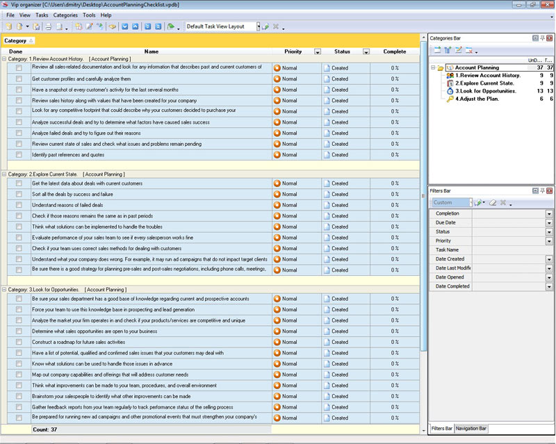 strategic account plan template download at four quadrant. pin ...