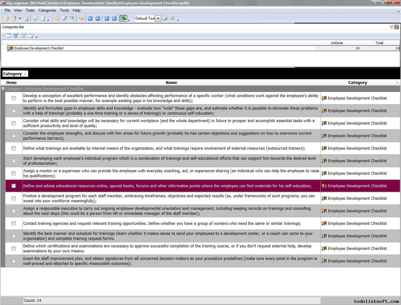 Doc570739 Employee Development Template Employee Career – Sample Employee Development Plan Examples
