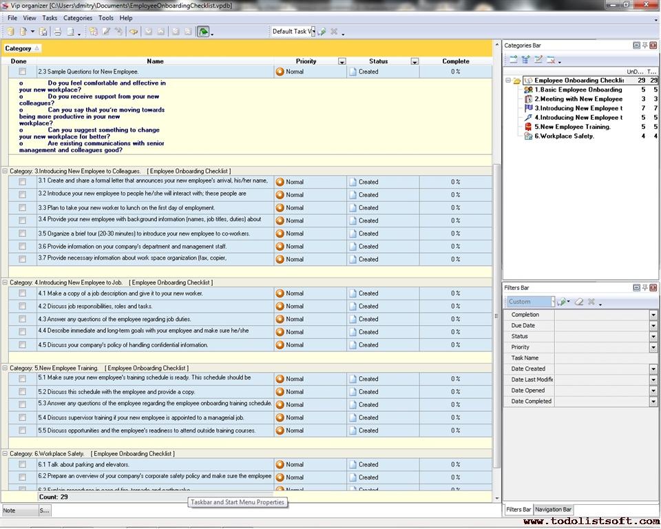 checklist new employee orientation download template html autos weblog. Black Bedroom Furniture Sets. Home Design Ideas