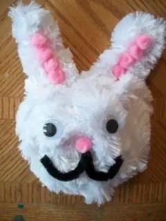 Como hacer una Mascara de conejo de pascua