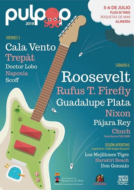 Cartel del festival Pulpop