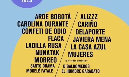 Cartel del festival En Órbita