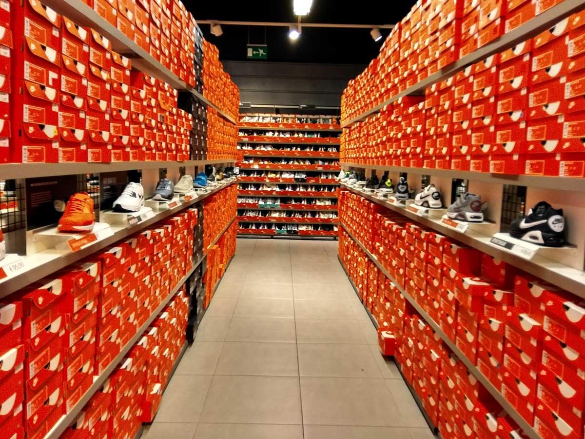 Outlet de Nike en Zaragoza
