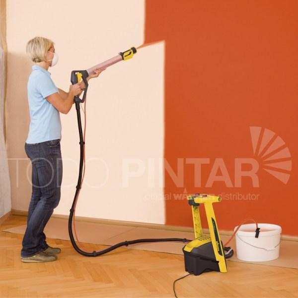 Pistola para pintar techos y paredes wagner w950 flexio - Pistola para pintar paredes precios ...