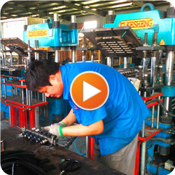 Production Video of rubber gasket