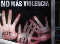 No más violencia [Clic para ampliar la imagen]