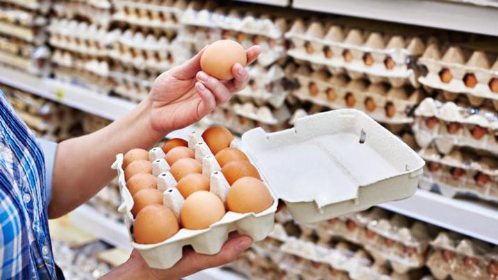 huevos de supermercado