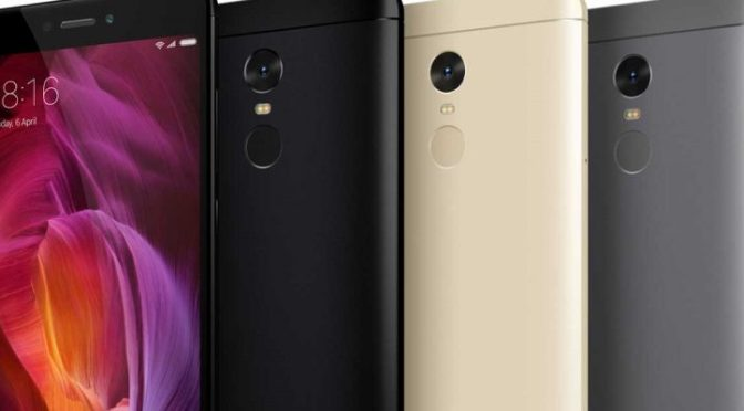 ANALISIS DEL XIAOMI REDMI NOTE 5A