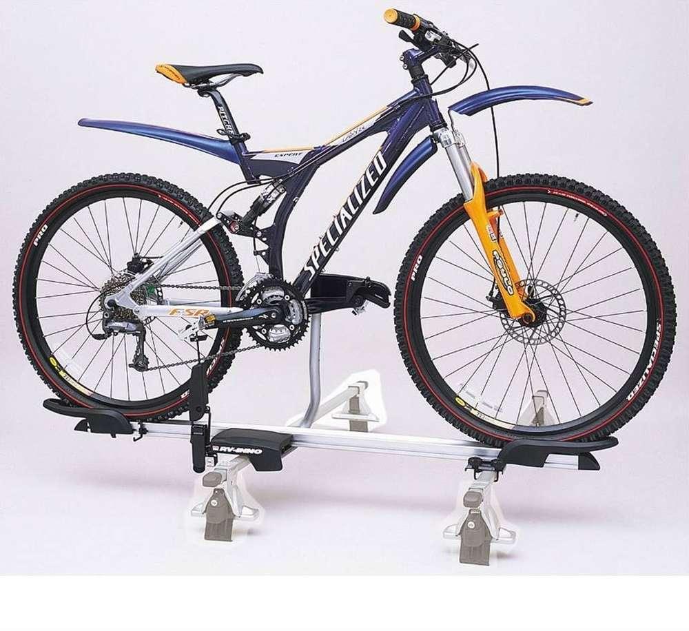 inno pedal hold bike rack for roof bars