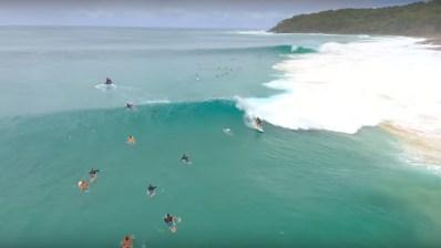 El ciclón Oma lleva surf perfecto a Australia