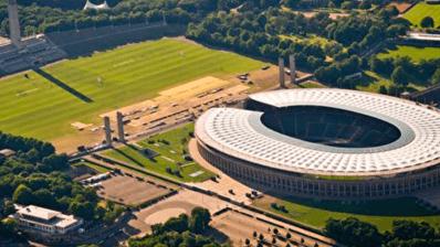 ¿El Olympiapark de Berlín futura ola artificial?