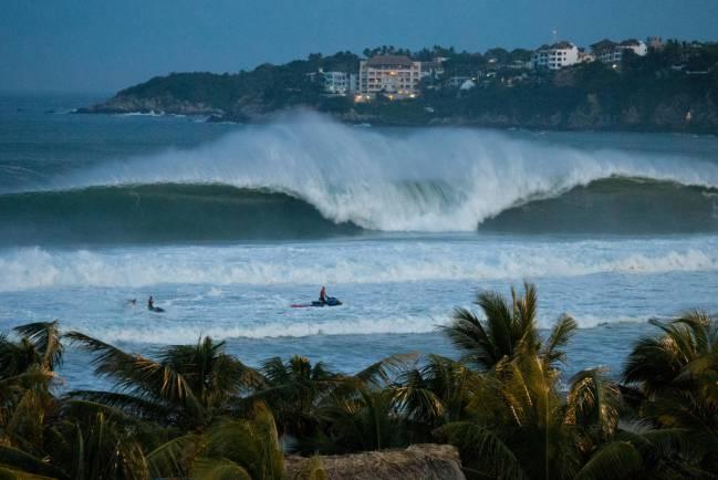 mejores olas puerto escondido