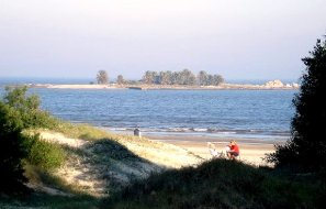 Isla de las Gaviotas desde Malvin