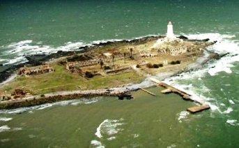 Vista aérea de la Isla de Flores